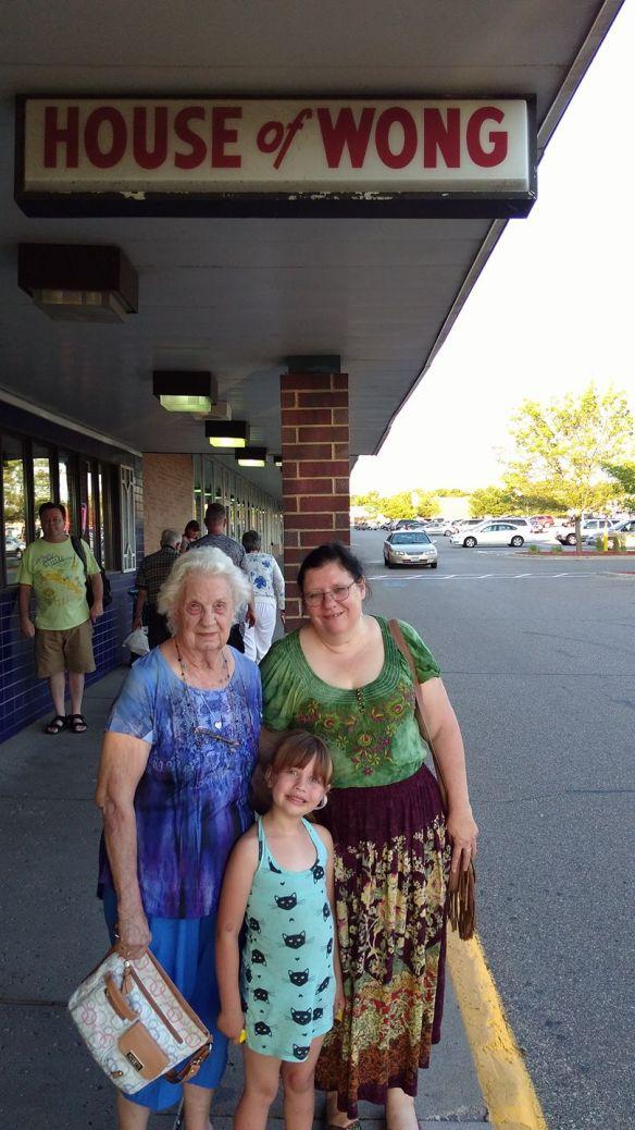 me and mona and grandma